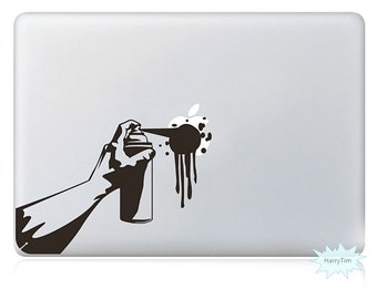 Paint Apple Decal Mac Stickers Macbook Decals Macbook Stickers Apple Decal Mac Decal Stickers Laptop Decal