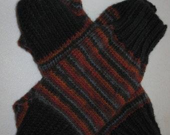 Variegated Wool Socks