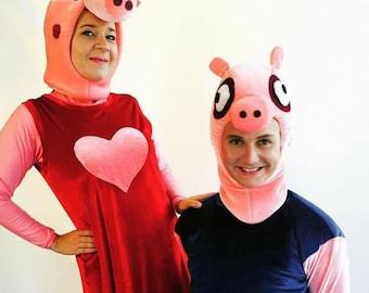 Pig Pepa costume.