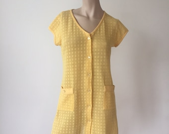 Yellow cover dress