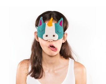 Unicorn sleeping mask
