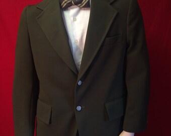 Mens vintage green blazer **free shipping!*