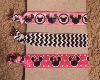Minnie Mouse Hair Ties