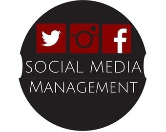 Social Media Management, Facebook, Twitter, Instagram, LinkedIn, Attract Customers, SEO, Social Media, Make Sales, Get Sales, Increase Sales