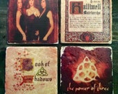 Charmed Halliwell Sisters Tile Set x4