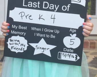 First day of school sign, last day of school dry erase reversible 12 x 12 wood sign, so cute, Photo Prop Mini Sessions, back to school Board