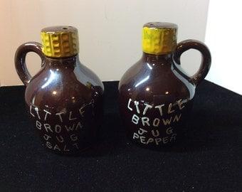 Little Brown Jug Salt and Pepper Shaker
