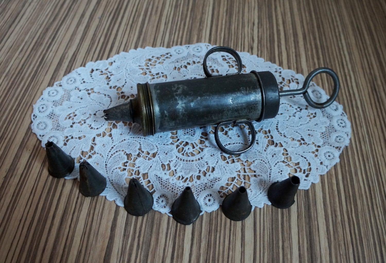 Antique Cake Decorator Pump