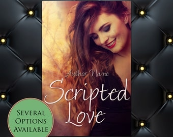 Scripted Love Pre-Made eBook Cover * Kindle * Ereader Cover