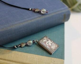Pride and Prejudice book bookmark