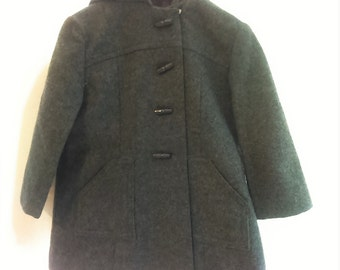 Coat Duffle coat mixed grey