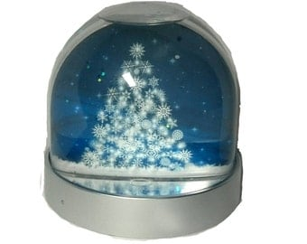 Christmas Tree - Glitter/Snow Globe, Snowglobe, Dome