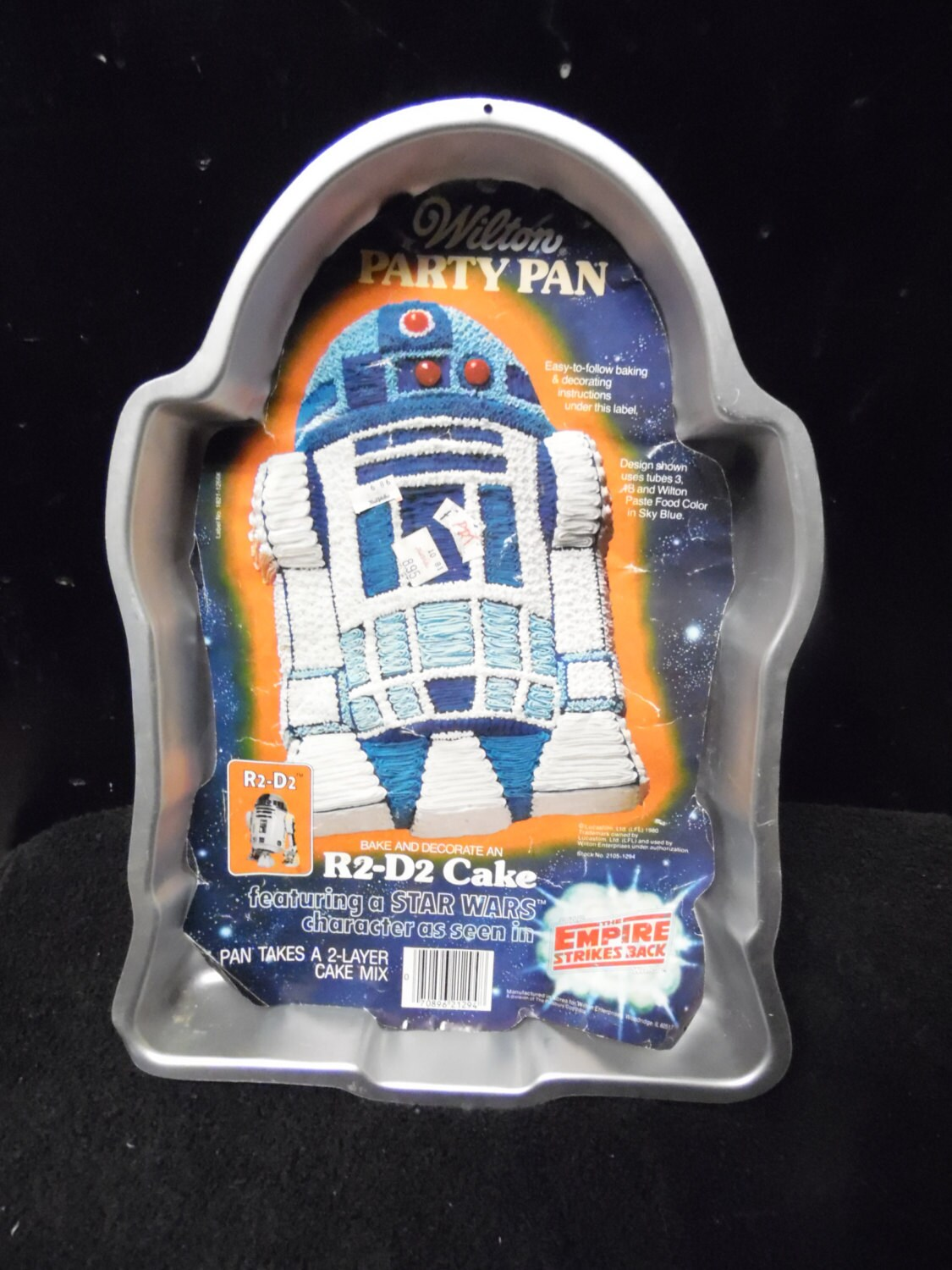 star wars cake pan wars r2d2 cake pan by wilton empire strikes back 7674