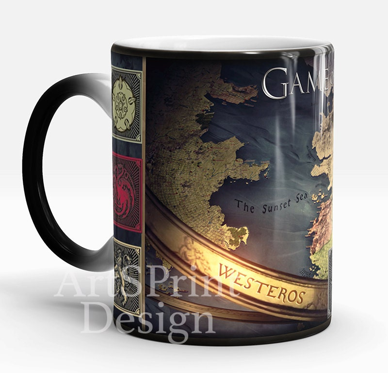 Game Of Thrones Mug Color Changing Mug White Photo Mug Game
