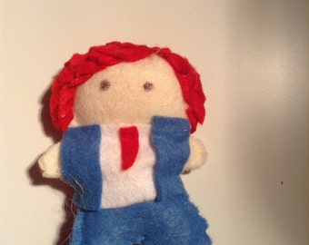 Hesitant Alien Gerard Way Pocket Doll
