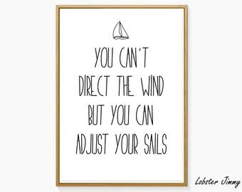 Adjust The Sails Etsy