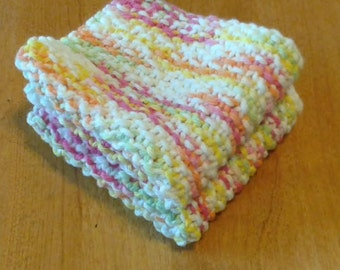 Knitted Dish Cloths,set of two
