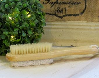 Wooden Pumice Brush