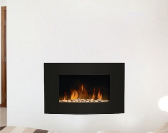 Fireplace Decal, Fireplace Wall Decal, Living Room Fireplace Wall Design,  Living Room Wall Part 24
