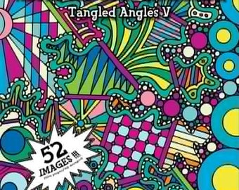 Coloring Book-Tangled Angles 5