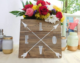Southern Sayings Wood Sign - Love