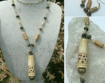 Boney M Necklace and Earring Set