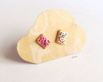 Miniature Poptart Earrings