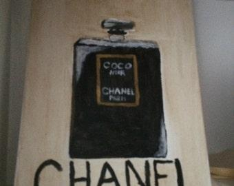 CHANEL Perfume Bottle Canvas