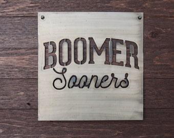 Boomer Sooners Sign
