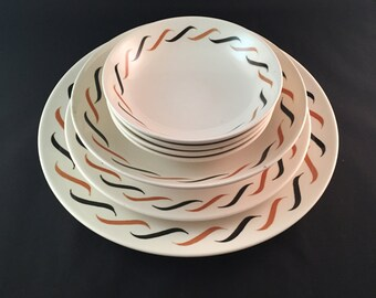 SALE - Royal China Dish Set - Mid-Century