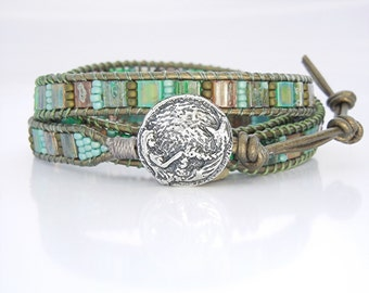 ONE Mermaid Wrap Bracelet Button Clasp, Artisan Sterling Silver Clasps, Artisan Mermaid Button Clasp, (BC4s) Nautical Jewelry Supplies Clasp