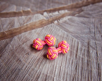 Chinese Knot Cufflinks ~2 pieces #100384