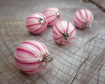 Ribbon Ball Attachment ~5 pieces #100823
