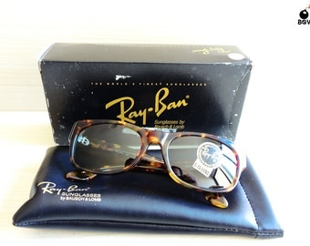 RAY BAN bohemian RayBan W1415 vintage sunglasses small Bausch&Lomb