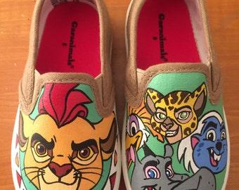 Lion Guard Shoes- Toddler Shoes