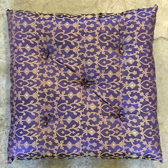 Moroccan Floor Pillows: Moroccan Style Floor Pillows Purple Sitting By TaraDesignLA