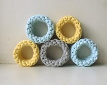 Knitted bracelets in stock