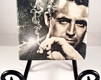 Cary Grant Coaster Set ( includes 4 tiles )