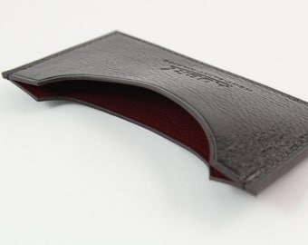 Card holder black and cherry