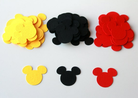 Disney Mickey Mouse Confetti Clubhouse Party Mickey Die