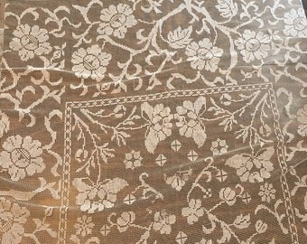 German lace table cloth
