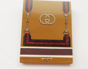 Very RARE Vintage GUCCI MATCHES Matchbook