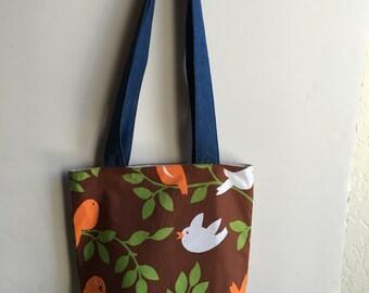 Tweetie Shoulder Bag - Michael Miller Fabric