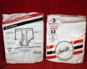 2 packs of Sears Roebuck & co briefs 3pack (deadstock)