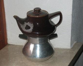 Italian coffee maker/ vintage coffee maker/espresso coffee maker/ ceramic coffee maker