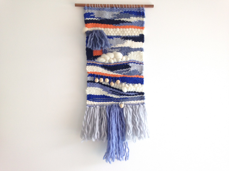 Woven Wall Hanging Weaving wall art