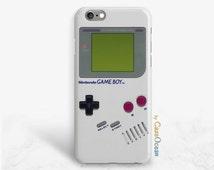 Gameboy Nintendo phone case, iPhone 6 6s 6s+ 6Plus phone case iPhone SE 5 5s 5c 4 4s case Samsung Galaxy S3 S4 S5 S6 S7 printed gameboy case