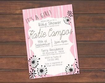 Bridal Shower/Baby Shower Invite
