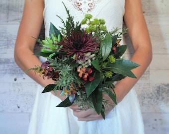 Succulent Bouquet - Alternative Bouquet