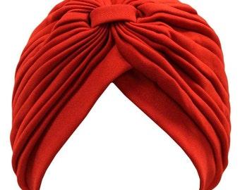 Red Turban - Full head Turban